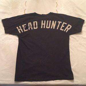 "[RARE] Undefeated ""HEAD HUNTER"" Black T-shirt"